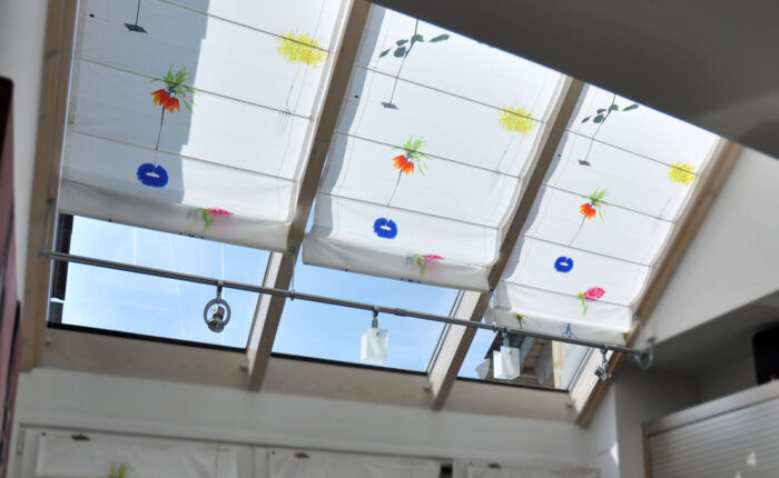 Quadro Faltrollos für Dachflächenfenster